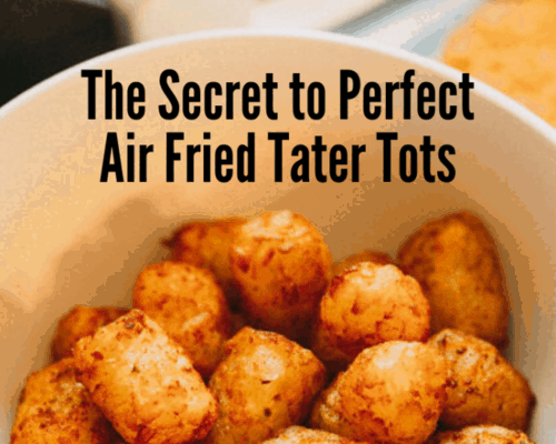 How Long Do You Cook Frozen Tater Tots In An Air Fryer