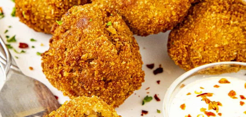 How To Cook Boudin Balls